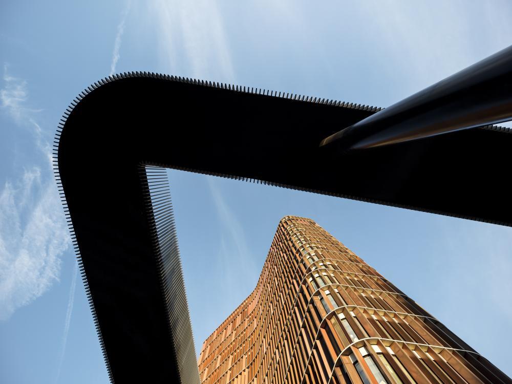 mærsk bygningen frøperspektiv