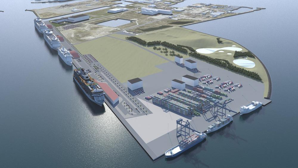 ny containerterminal ydre nordhavn