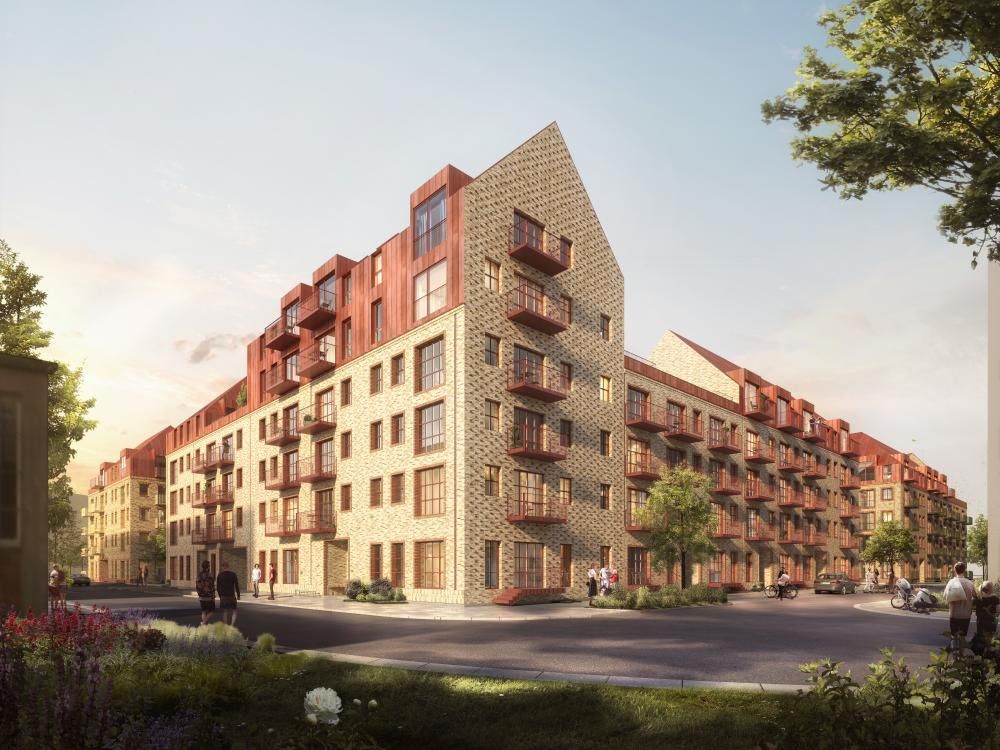 nye boliger sydhavnsgade kvarter
