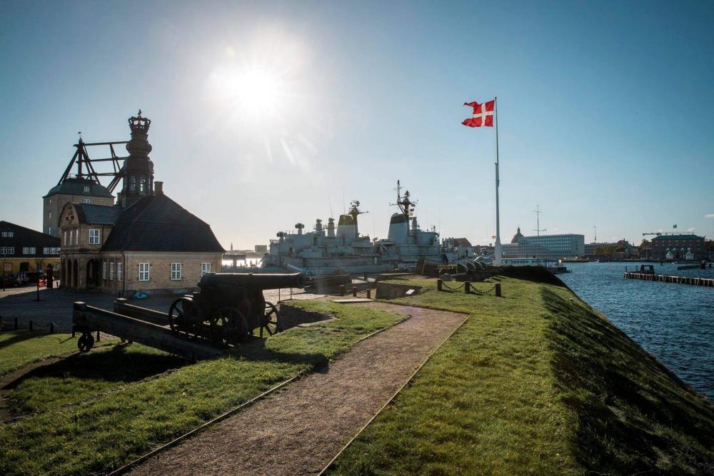 nyholm rigets flag