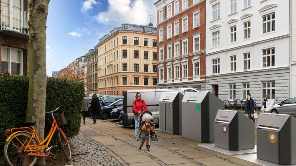 Affaldssortering i Københavns Kommune