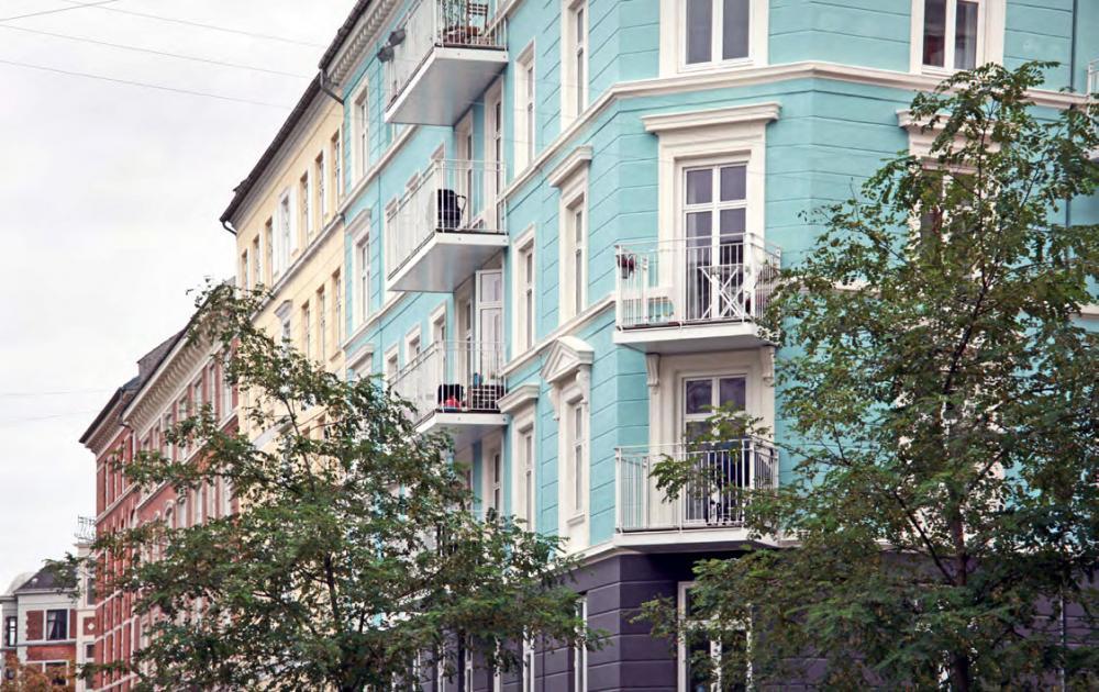 Dybbølsgade altaner københavn vesterbro