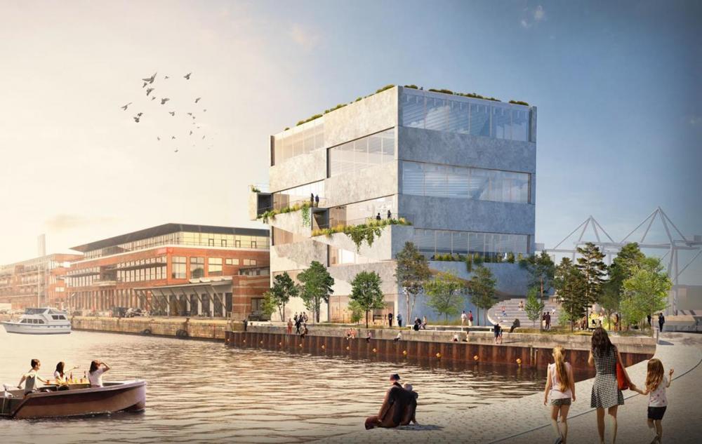 BIG hovedkvarter HQ Nordhavn København