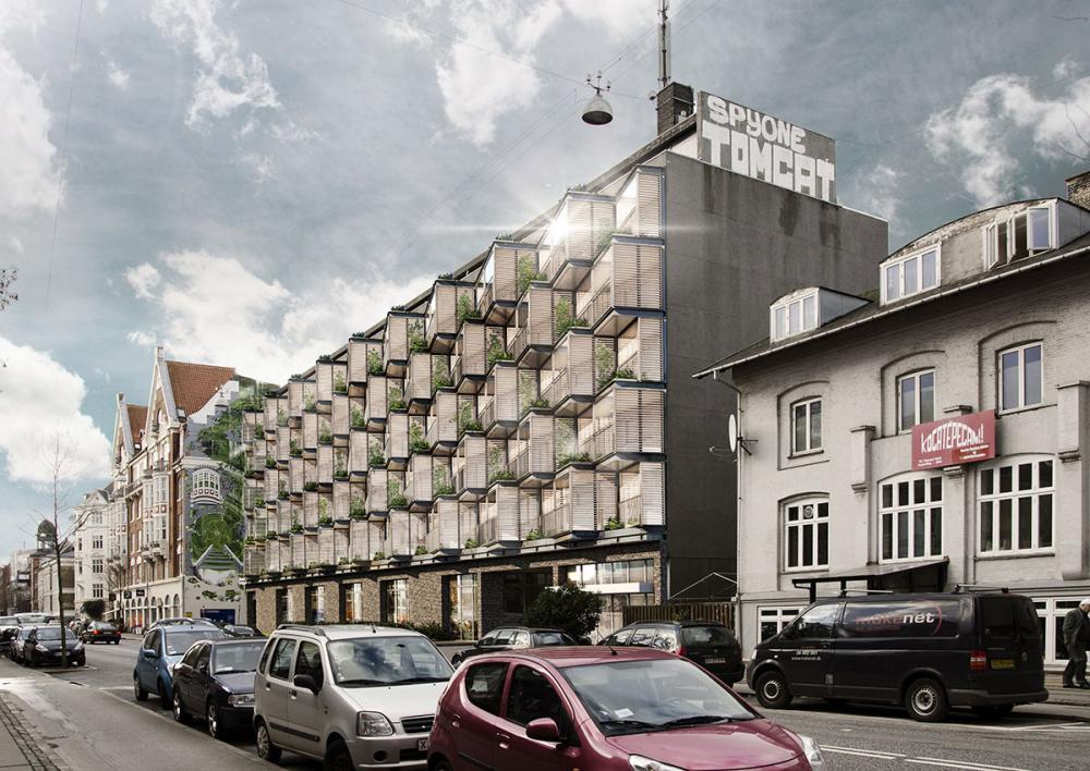 HC Ørstedsvej facade efter