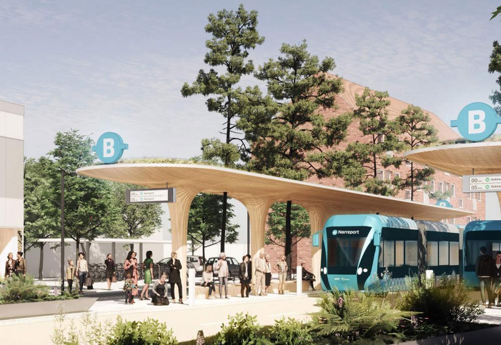 BRT letbane metro Brønshøj