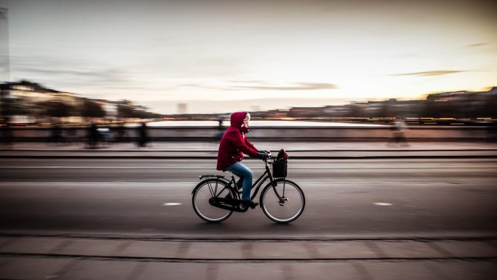Cyklist Dronning Louises Bro