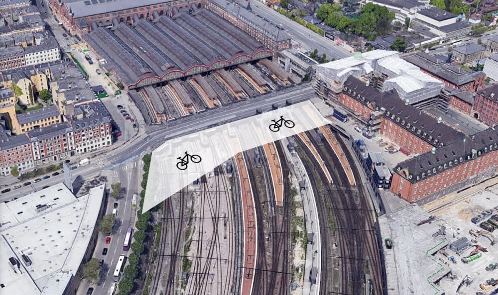 Københavns Hovedbanegård Cykelparkering