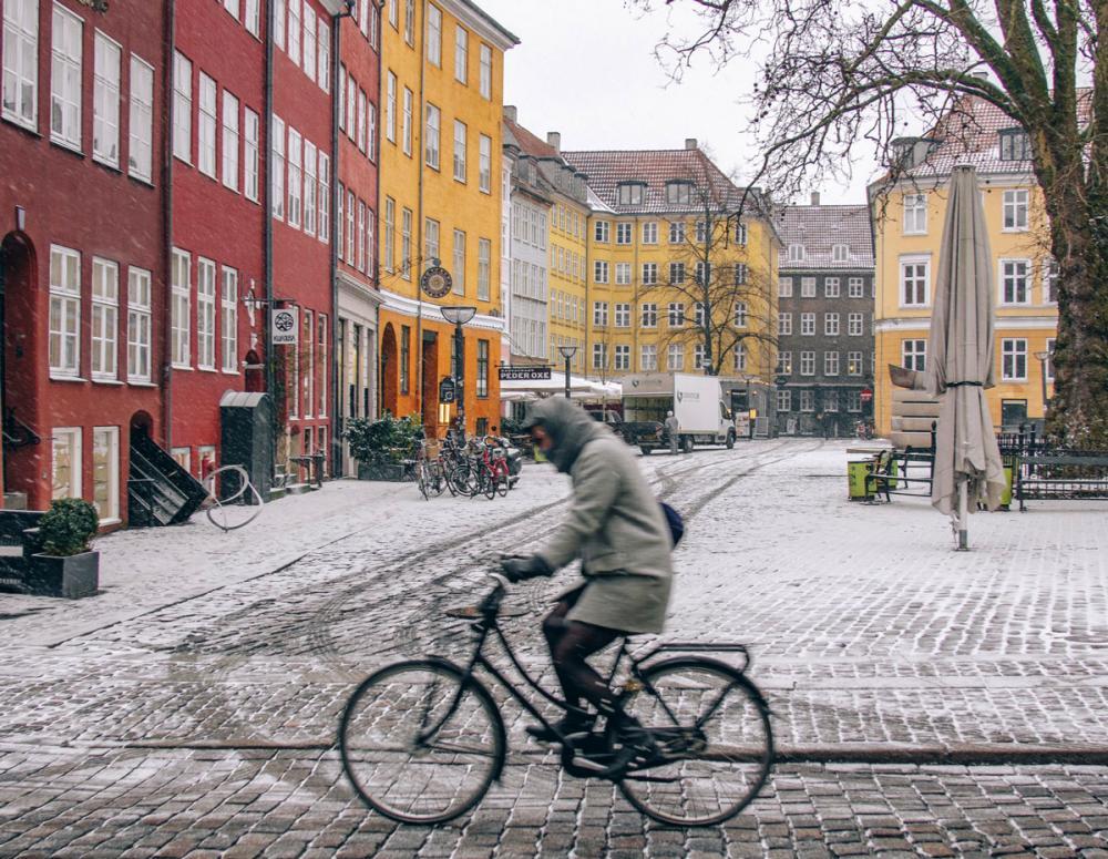 Gråbrødre Torv cyklist