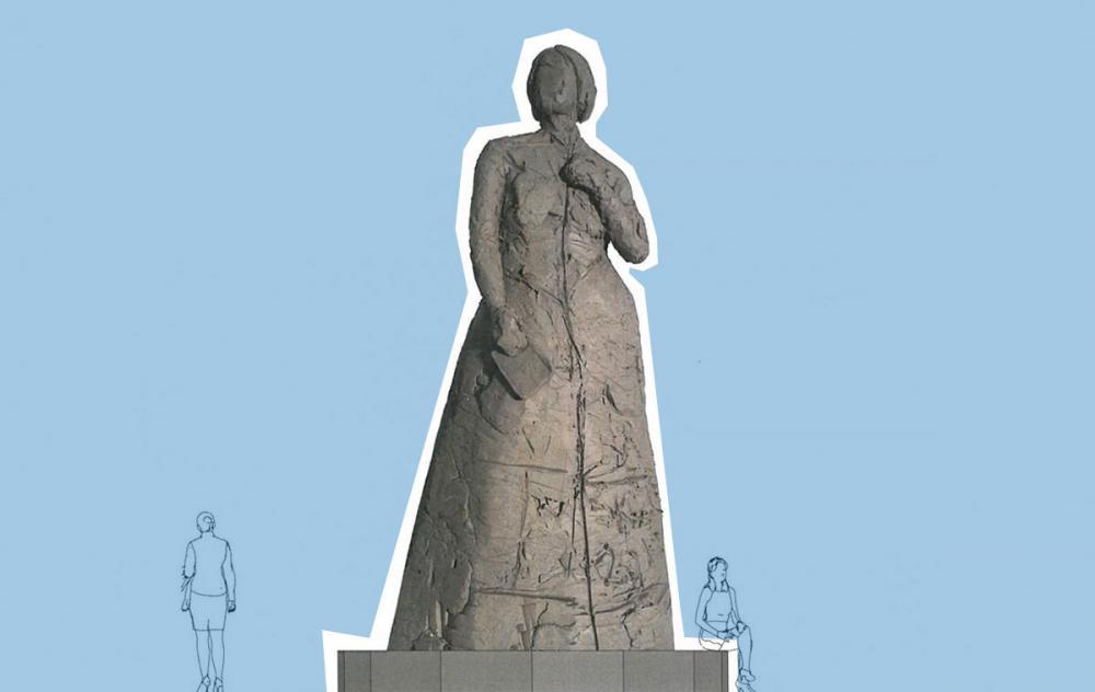 Kirsten Justesens Grevinde Danner Statue