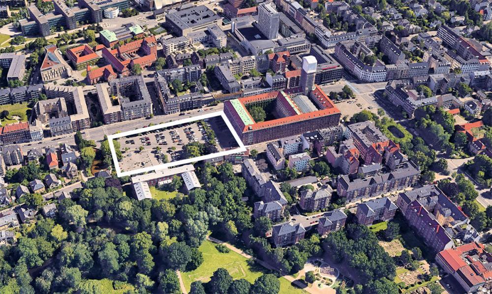 Frederiksberg Rådhus Plads Parkering