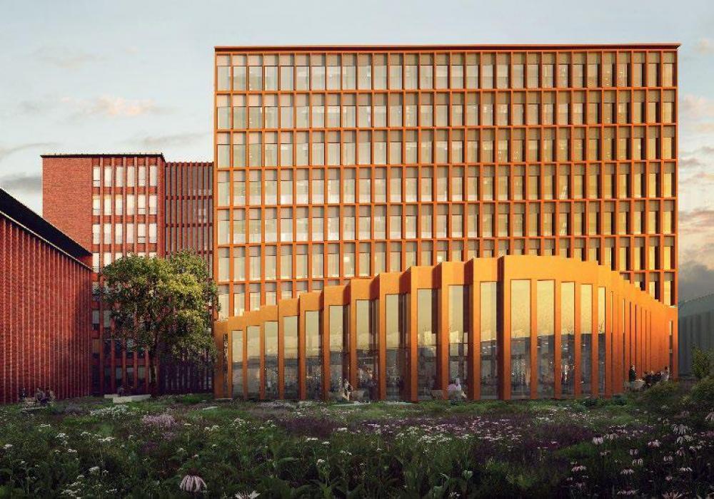 ny hovedbygning flsmidth