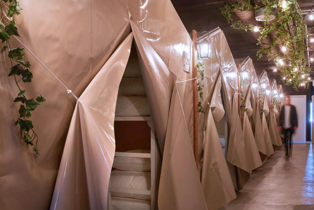 jungletelte urban camper hostel