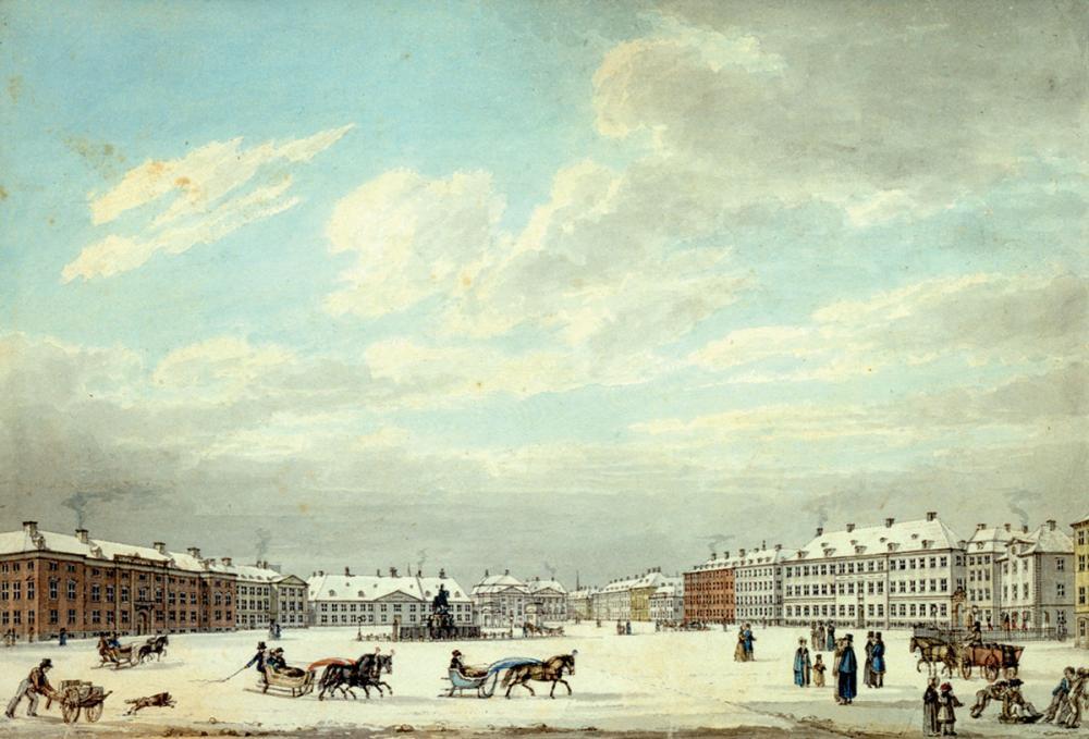 Kongens Nytorv ca 1830