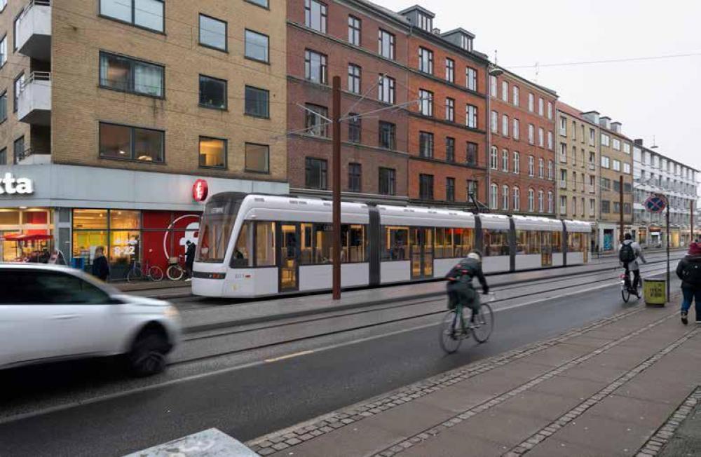 visualisering af letbane på Frederikssundsvej
