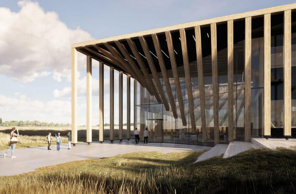 indgangspartiet ved life campus i lyngby