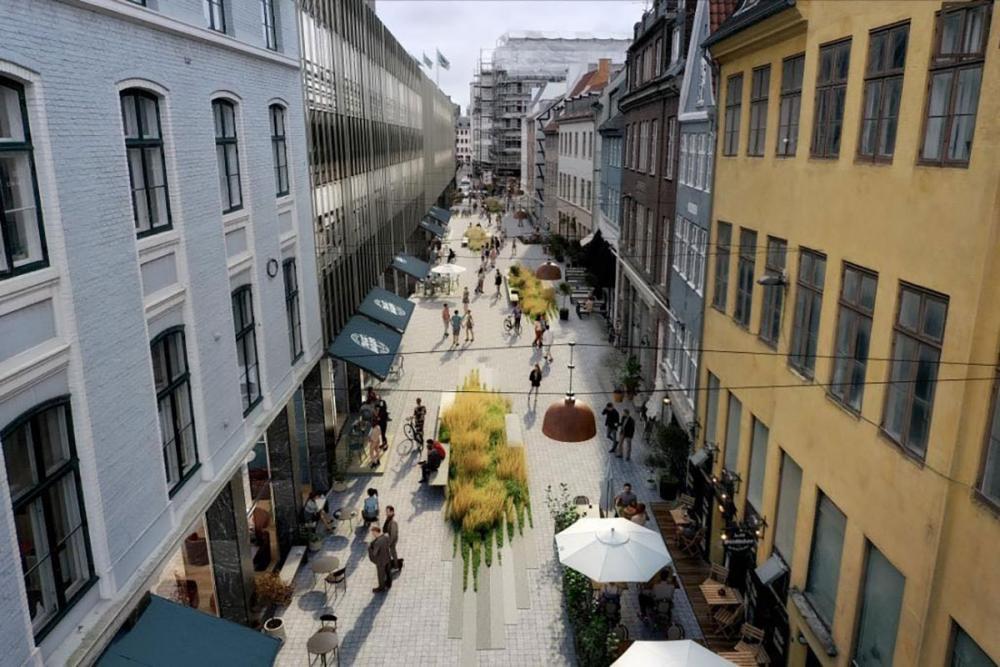 Remees planer om bilfri Lille Kongensgade