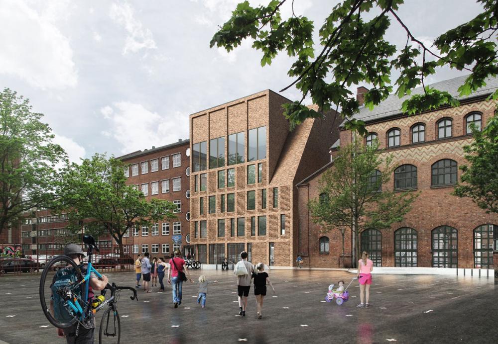 Oehlenschlægersgades Skole tilbygning