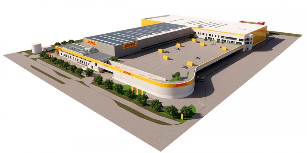 DHLs nye pakketerminal i kastrup