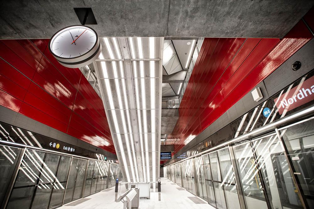 nordhavn metrostation