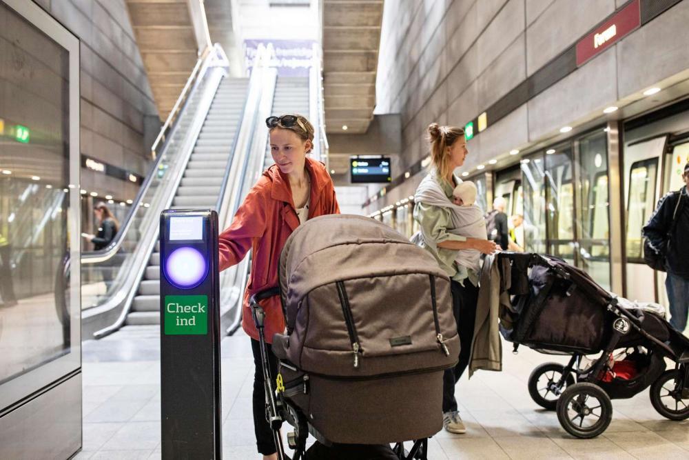 Metro københavn check in