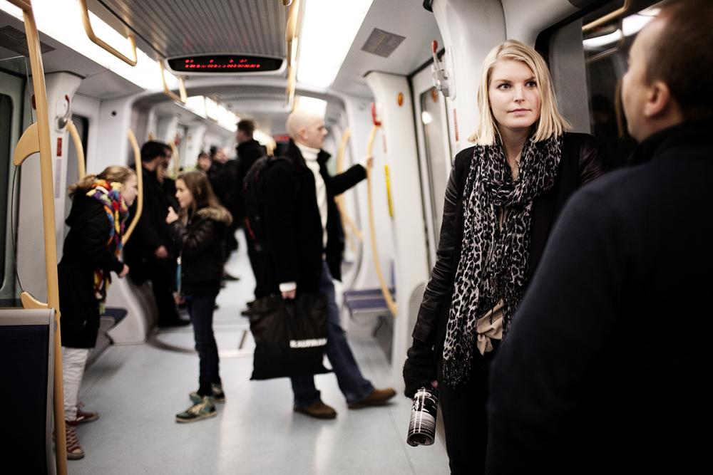 københavns metro passagerer