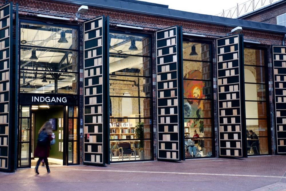 nørrebro bibliotek indgang