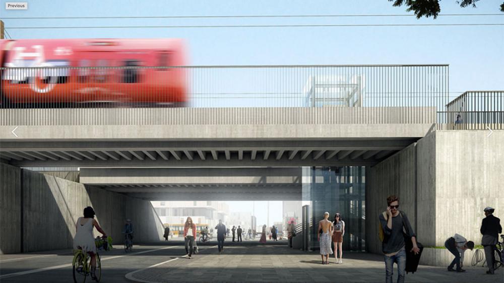 Nordhavn Station forlænges til Århusgade