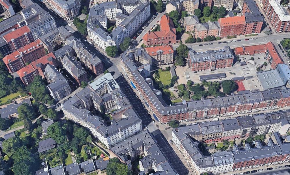 Ombygning af Nordre Frihavnsgade til cykelgade