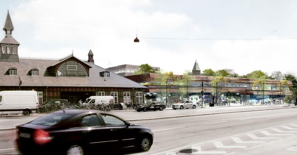 østerport II facade lokalplan
