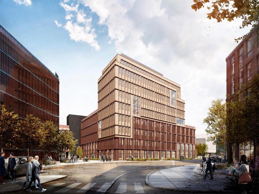 PFA Pensions nye flerbrugerkontorhus i Nordhavn