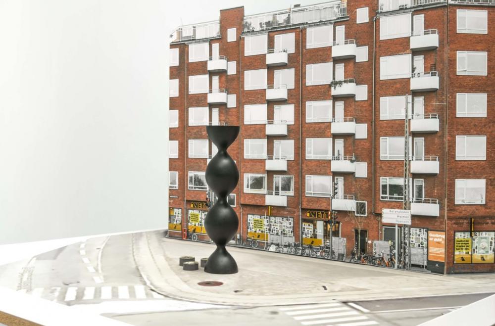 portal til amager skulptur
