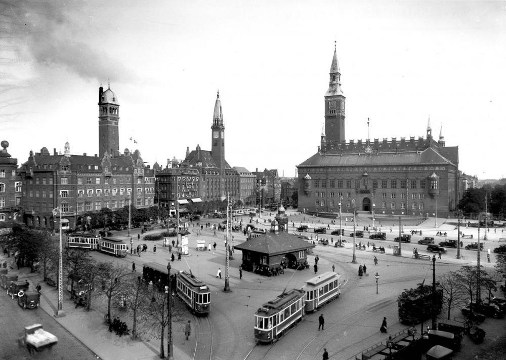 Rådhuspladsen København 1930