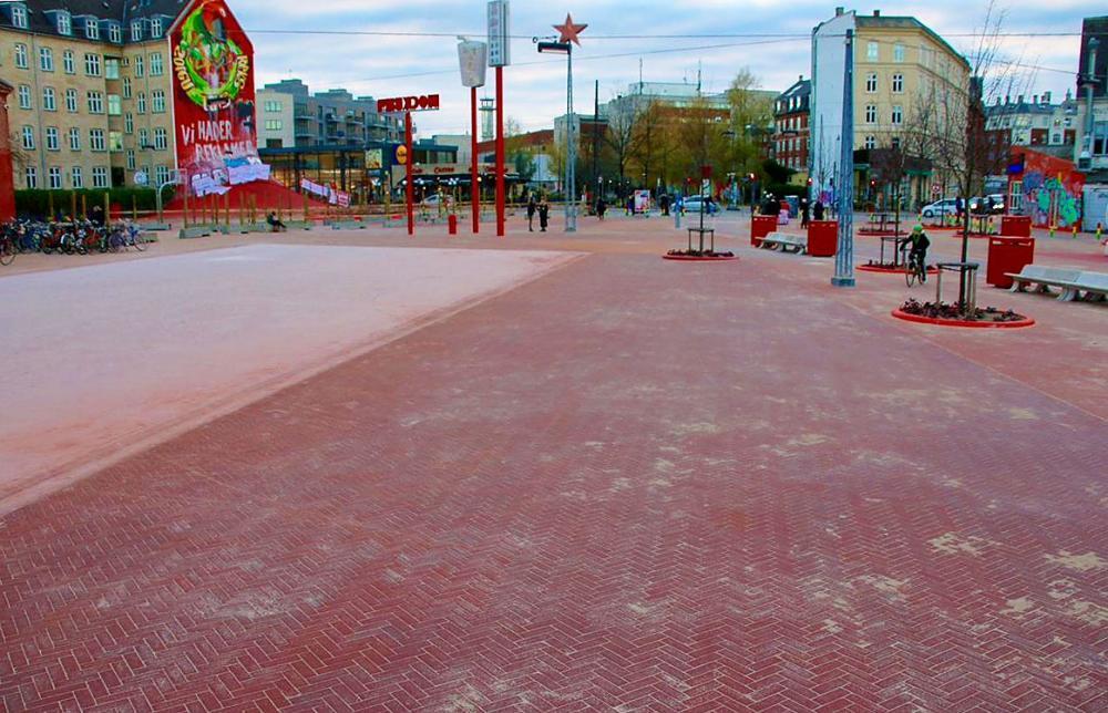 Den Røde Plads på Nørrebro