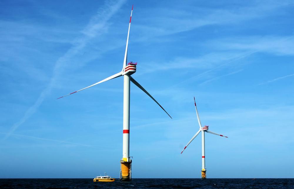 windmills sea vindmøller hav