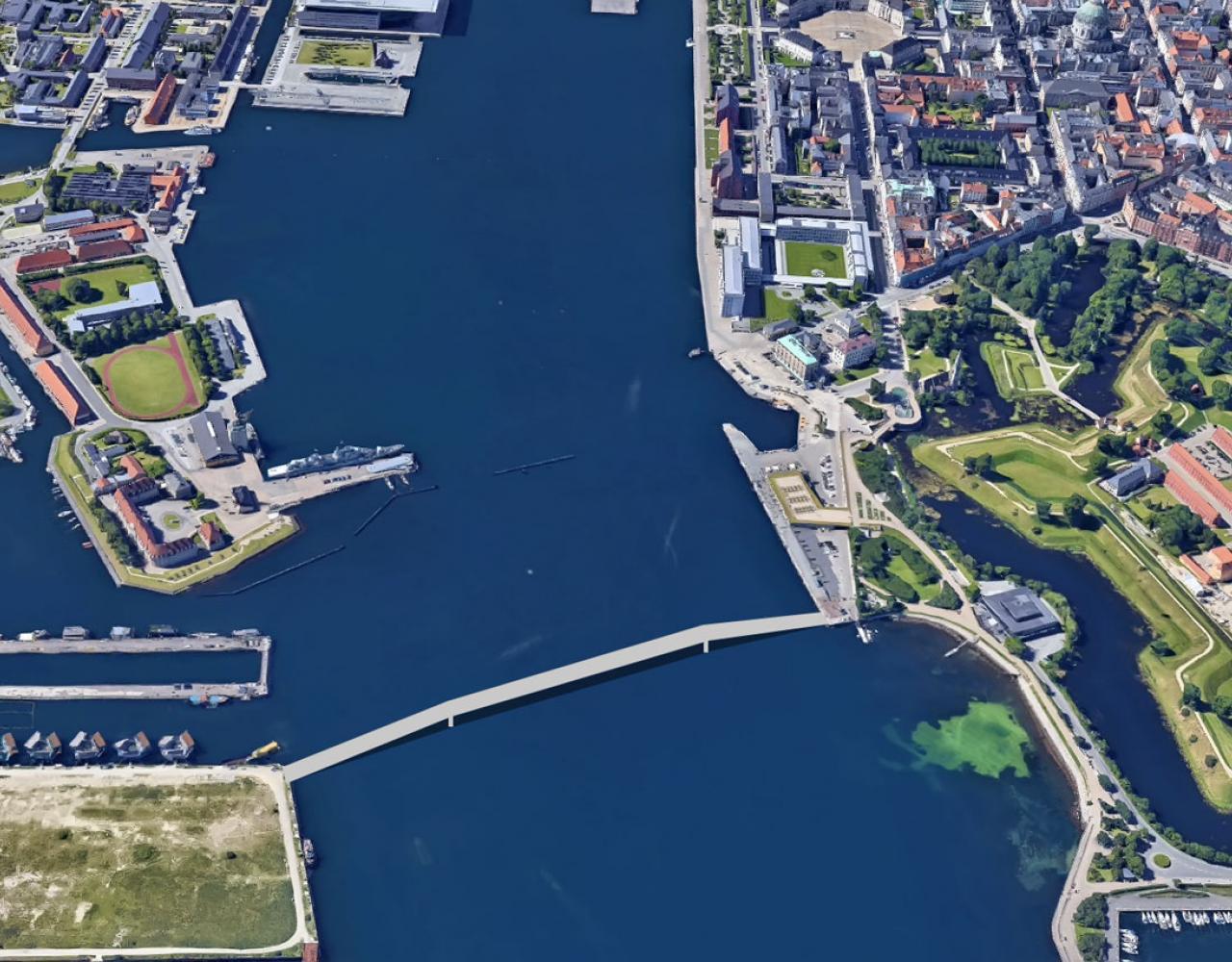 Nordre Toldbod bro refshaleøen