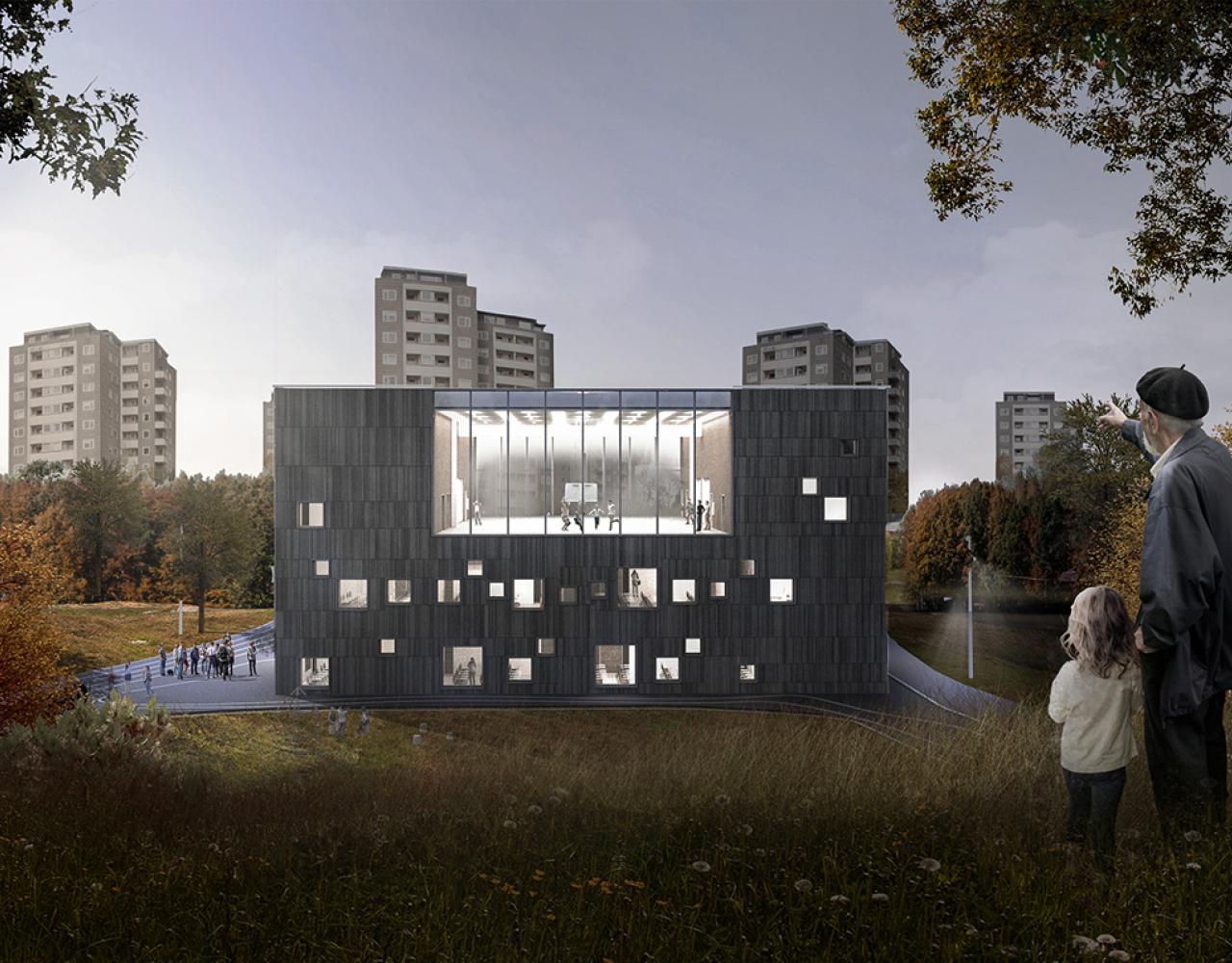bellahøj skole udskolingsbygning