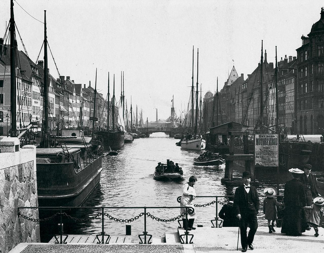 Nyhavn ca 1910