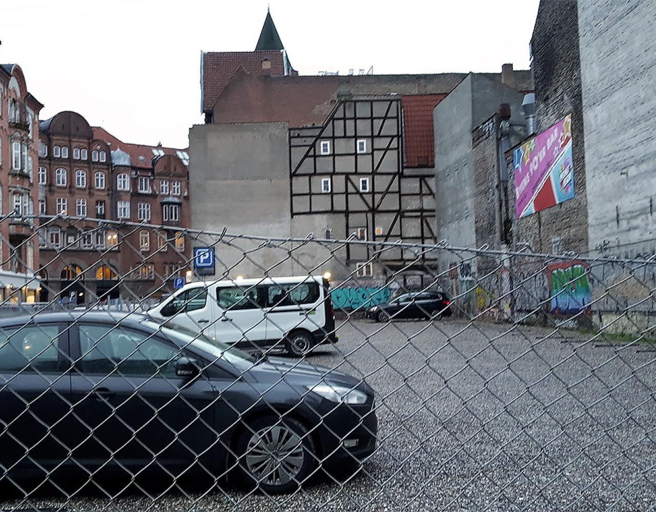parkeringsgrund store regnegade