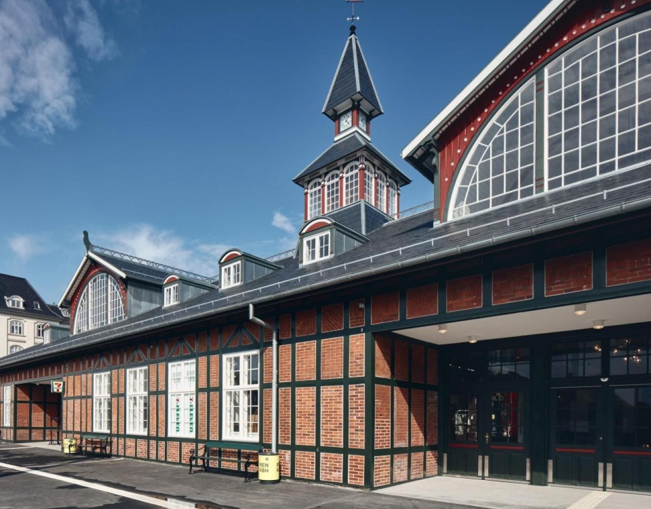 østerport bindingsværk facade