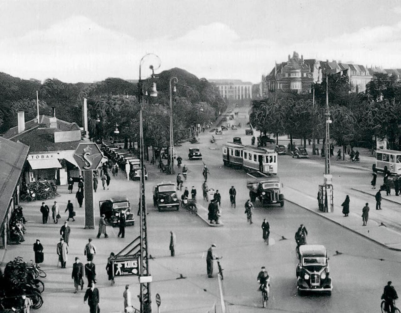 Østerport ca. 1940