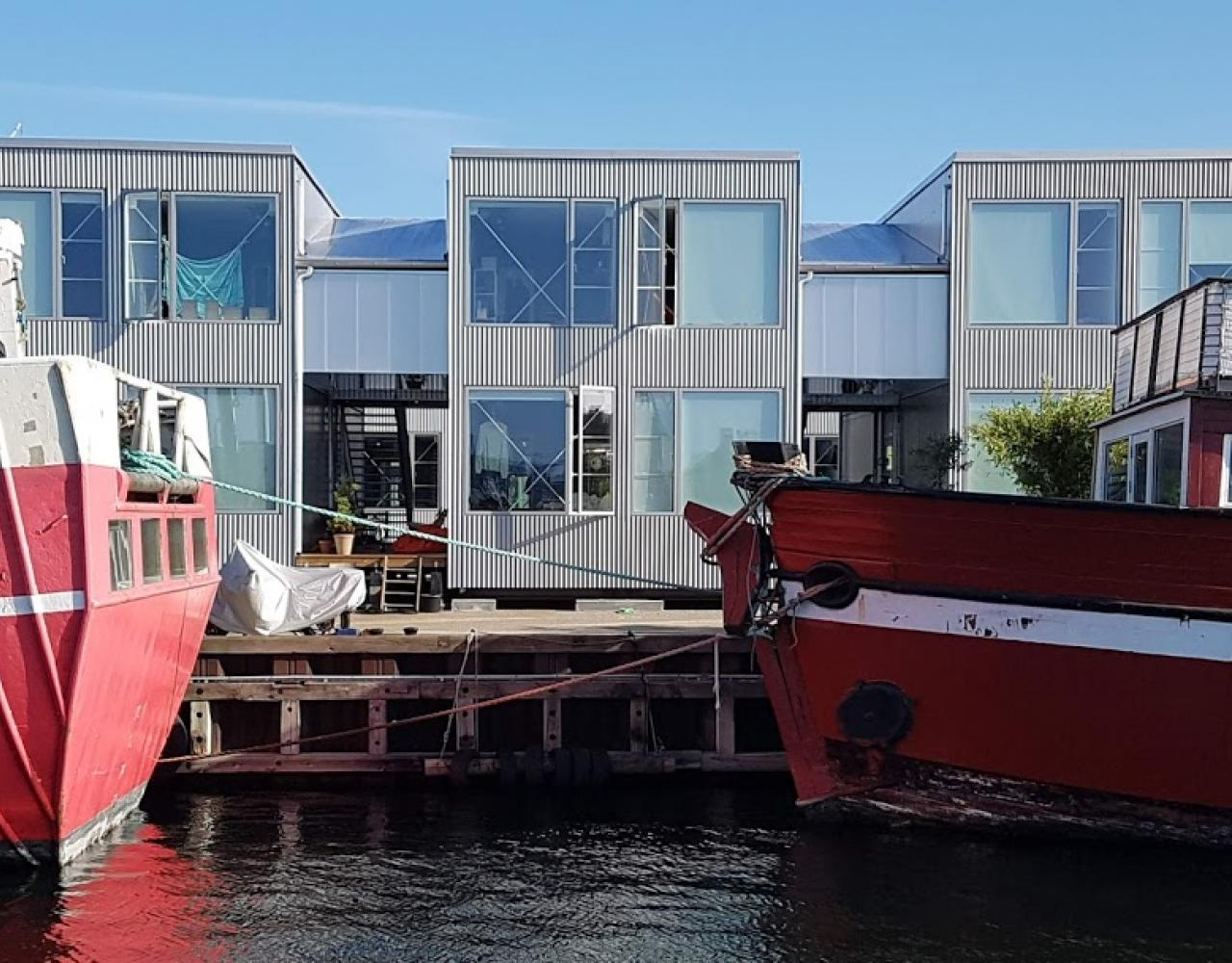 containerstudieboliger refshaleøen
