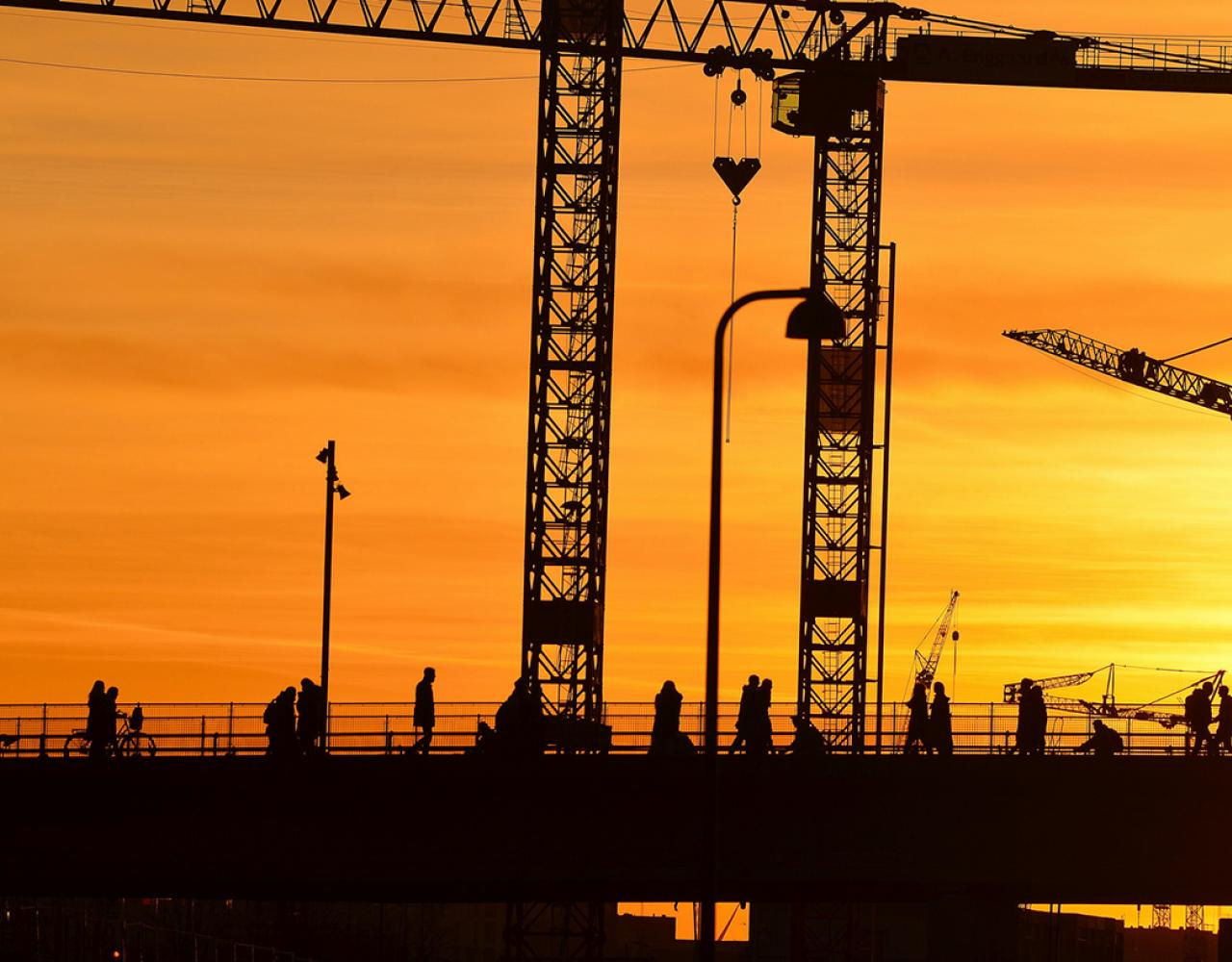 dybbølsbro byggekraner