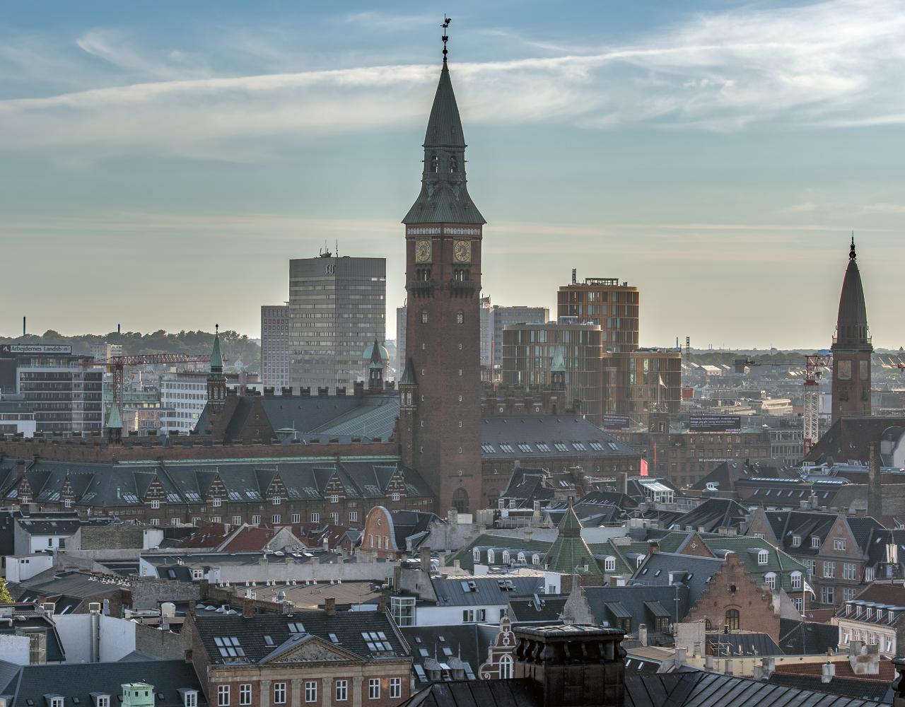 københavns rådhus skyline