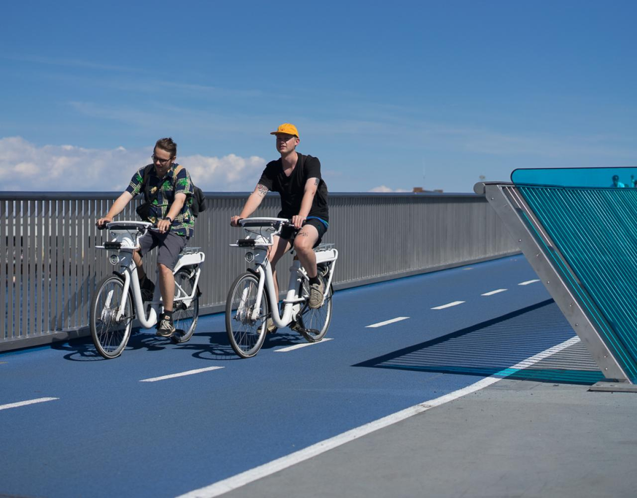 bycykel inderhavnsbroen