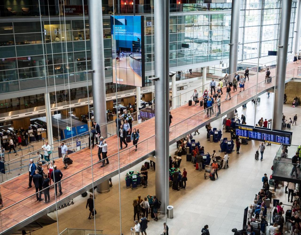 københavns lufthavn gangbro