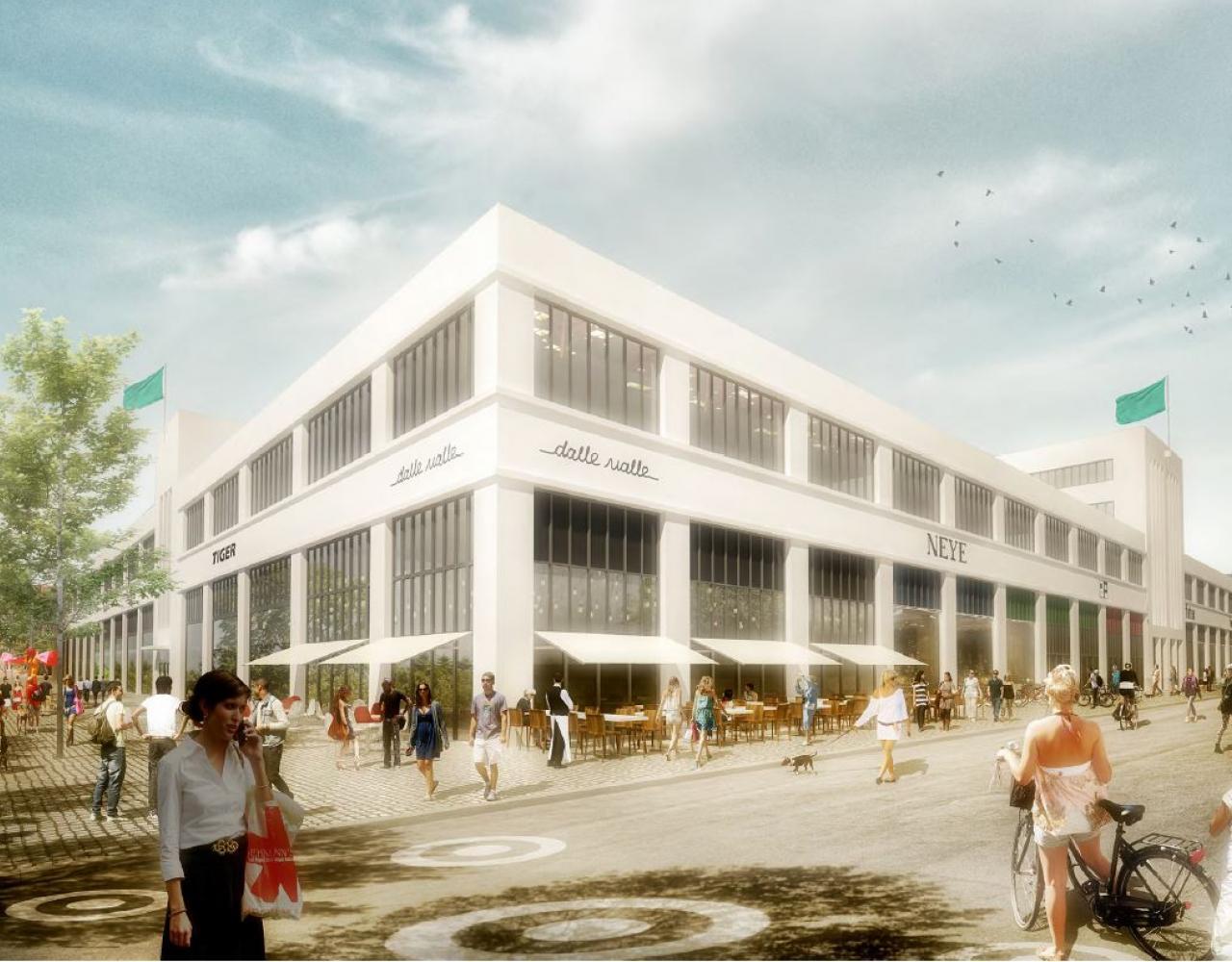 amager centret plh arkitekter