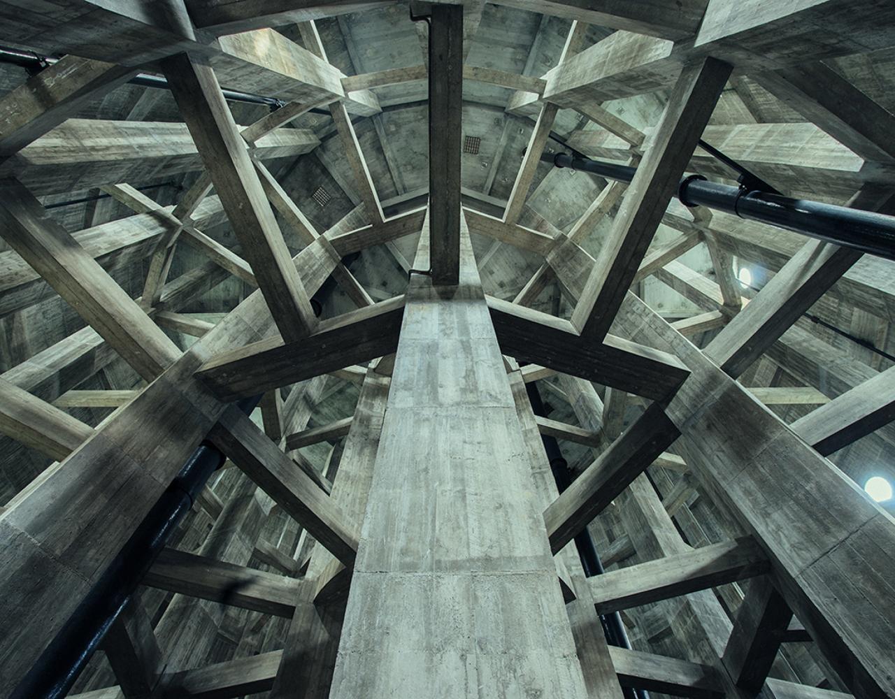 brønshøj vandtårn interiør