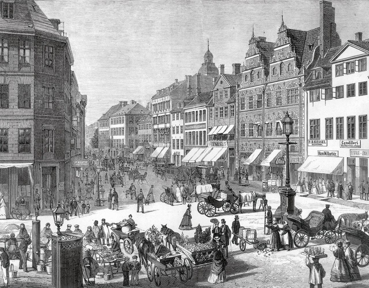 Amagertorv ca 1860