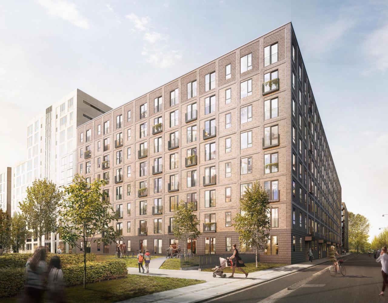 CF Møller Ørestad City boligblok