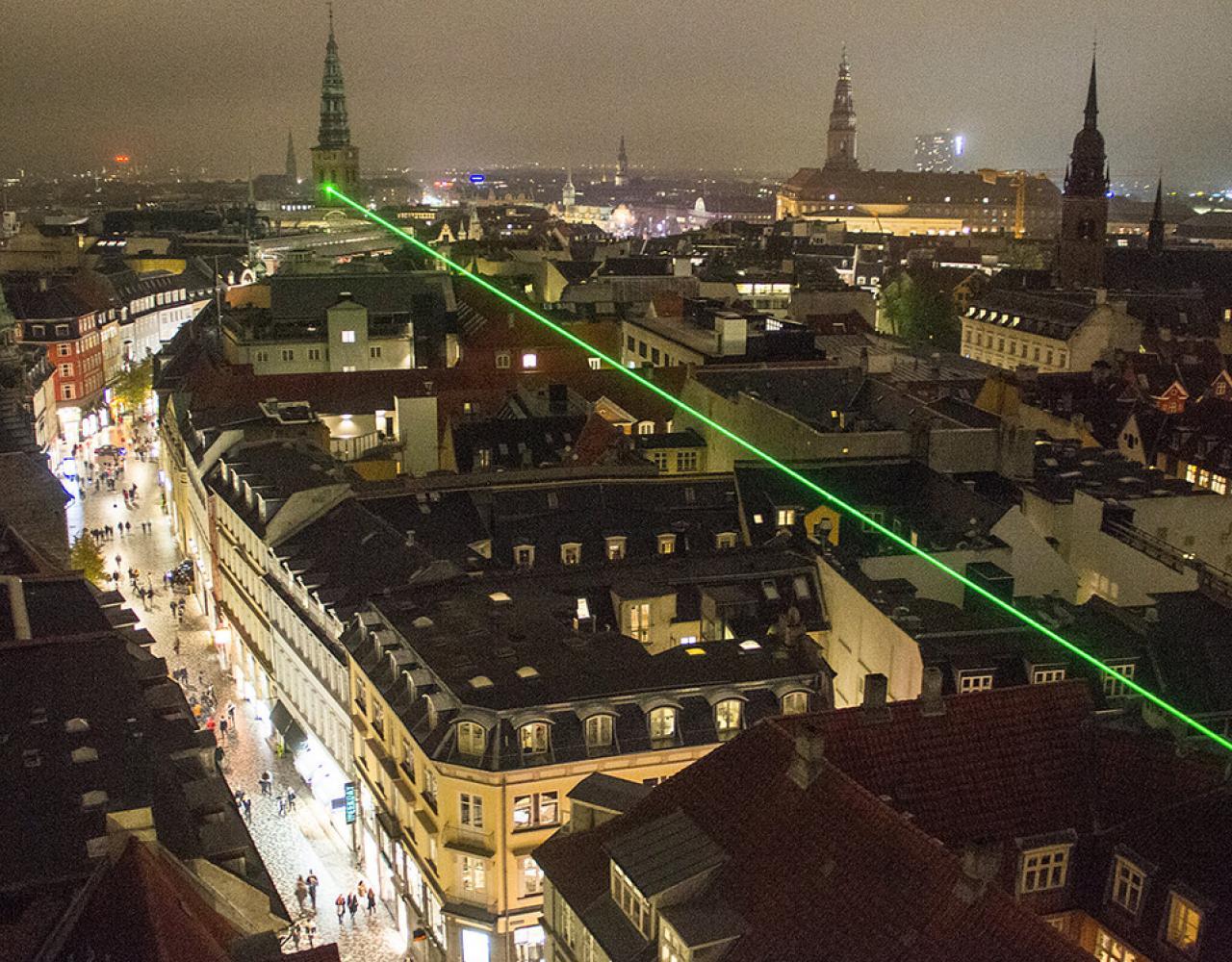 green beam martin erstad